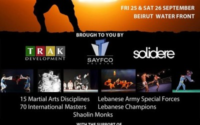 The 1st Martial Arts Festival of Beirut
